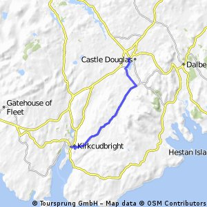 St Ninians's Way - Castle Douglas to Kirkcudbright
