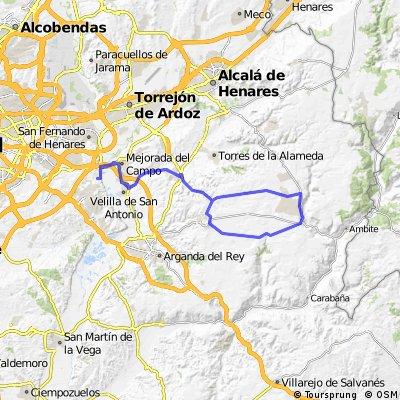 """Ruta Carretera 44: 70 Km 514 m - """"Campo Real"""""""
