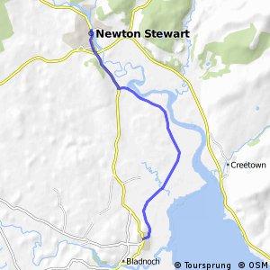 St Ninian's Way - Newtown Stewart to Wigtown