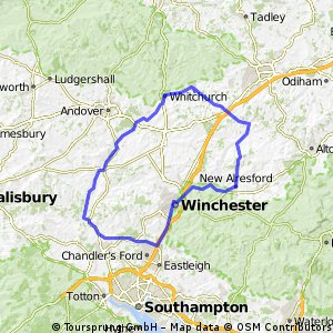 Winchester 100 km loop