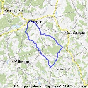 50km - Runde - Mengen