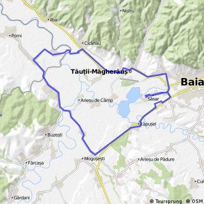 Sasar-Mogosesti-Ardusat-Bargau-Tauti-Sasar