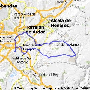 """Ruta Carretera 36: 68 Km 483 m - """"La Campsa y Los Pinos de Nuevo Baztán"""""""