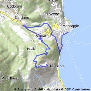 Sasso San Martino - Menaggio (via Croce)