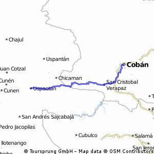 Uspantan - Coban