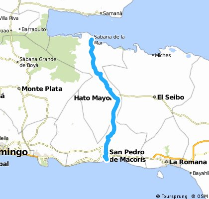 Samana - San Pedro CG