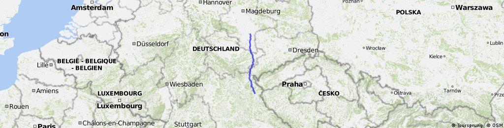 Jobbig bit: Halle-Falkenberg