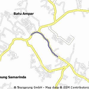 Short bike tour through Balikpapan