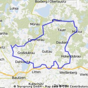 Route Rund um Luppedubrau III