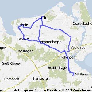 RTF Vorpommern 08 75 km