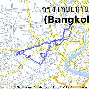 bike tour through Bangkok