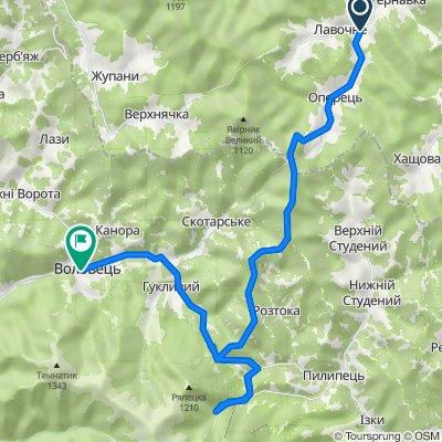 Вело Закарпаття - до водоспаду Шипіт