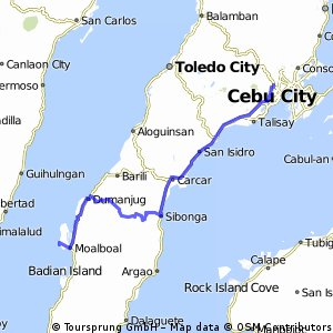 Cebu City - Moalboal