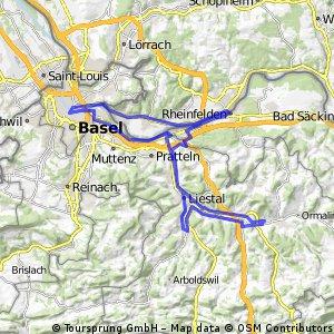 Böckten - Basel - Rheinfelden - Böckten