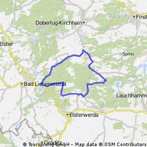 Rundtour Niederlausitzer Heidelandschaft
