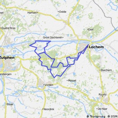 Long ride through Zutphen