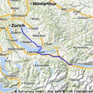 Schweiz Tag 1