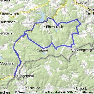von Klingenthal ins Erzgebirge
