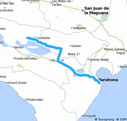 La Descubierta - Barahona