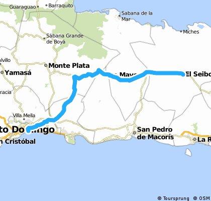 El Seibo - Santo Domingo