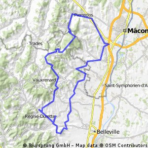 Rte des vins Macon sud GP