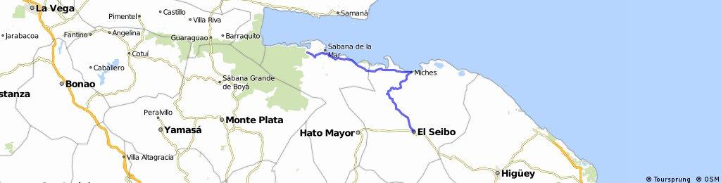 Sabana del Mar (CH) - El Seibo