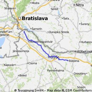 Babolna-Rajka 'ia Bratislava' (8. etapa)