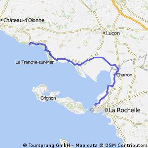 Jard sur Mer - La Rochelle