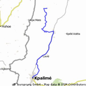 Kpalimé - Dzogbégan