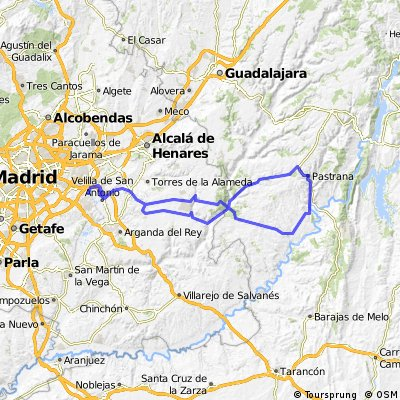 "Ruta Ciclodeportiva 21: 150 Km 1470 m - ""Pastrana"""