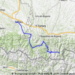 Tour de France 2016 Stage 8: 183 km Pau - Bagnères-de-Luchon