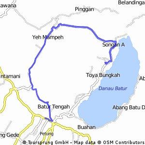 Day 4 Long-Lake to top Mt Batur