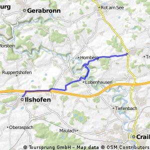 Wallhausen - Ilshofen
