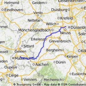 Tour de france perso étape 2 düsseldorf-valkenburg