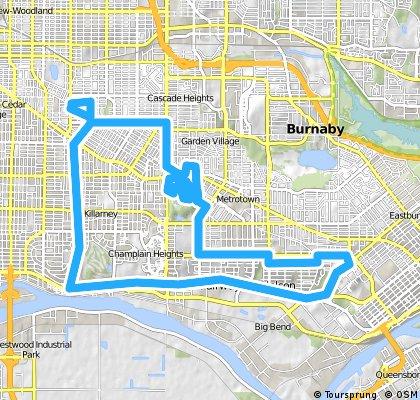 bike tour through Vancouver