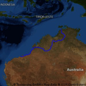 Port Hedland to Darwin