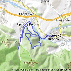 Okruh Liptovský Hrádok-Borova Sihoť-Lipt.Jan