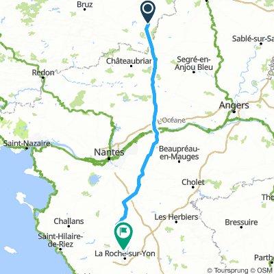 La Guerche-de-Bretagne to La Roche-sur-Yon