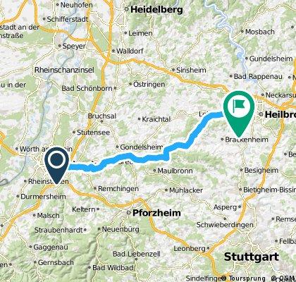 Karlsruhe - Leingarten