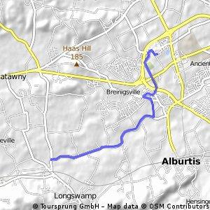 Autumn Park to Mertztown Rush
