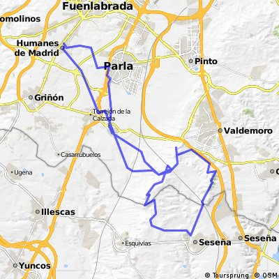 HUMANES_TORREJON CALZDA_FTE TEJA_SESEÑA_Y VUELTA