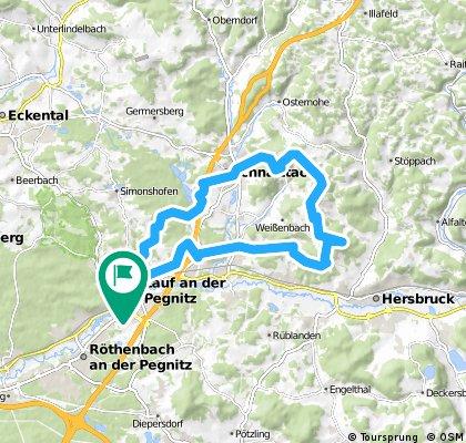 Route Hansgörgl-Rothenberg-Lauf