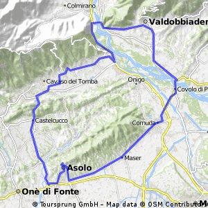 Via del Prosecco tour