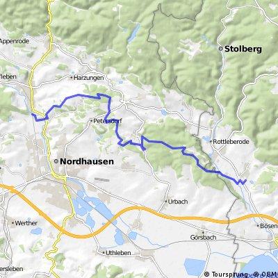Niedersachswerfen-Uftrungen-Karstwanderweg Teil 3