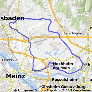 Feierabendrunde Wiesbaden - Flörsheim
