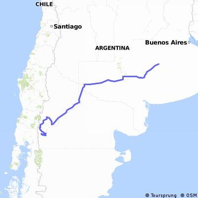 Bolivar a Bariloche