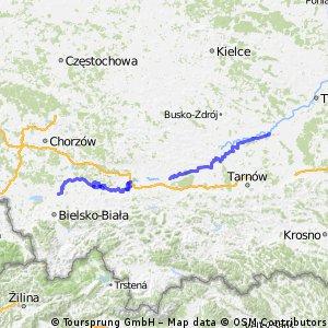 Wiślana Trasa Rowerowa - Małopolska