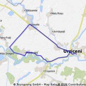 Lengthy ride through Urziceni surroundings