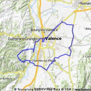 2016 Ride Day 91 - Valence Circle to Col de Rotisson