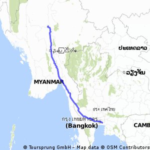 Bangkok / Mandalay